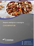 Анализ импорта и экспорта сухофруктов в России в России 2021, 2020 2016-2020  гг.