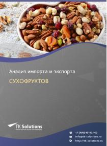 Анализ импорта и экспорта сухофруктов в России за 2016-2020  гг.