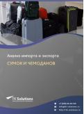 Анализ импорта и экспорта сумок и чемоданов в России в России 2021, 2020 2016-2020  гг.