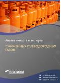 Анализ импорта и экспорта сжиженных углеводородных газов в России в России 2021, 2020 2016-2020  гг.