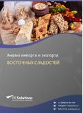 Анализ импорта и экспорта восточных сладостей в России в России 2021, 2020 2016-2020  гг.