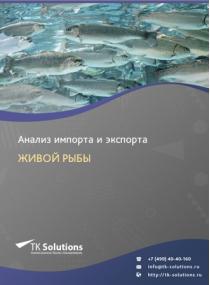 Анализ импорта и экспорта живой рыбы в России за 2016-2020  гг.