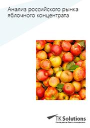 Анализ рынка яблочного концентрата